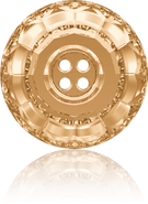 Swarovski Button 3008 MM 12,0 CRYSTAL GOL.SHADOW F(48pcs)