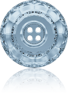 Swarovski Button 3008 MM 14,0 CRYSTAL BL.SHADE F(36pcs)