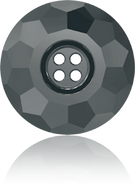 Swarovski Button 3008 MM 12,0 JET HEMAT(48pcs)