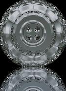 Swarovski Button 3008 MM 14,0 CRYSTAL SILVNIGHT(36pcs)