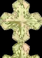 Swarovski Fancy Stone 4784 MM 8,0 CRYSTAL LUMINGREEN F(144pcs)