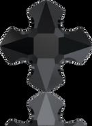 Swarovski Fancy Stone 4784 MM 14,0 JET(72pcs)