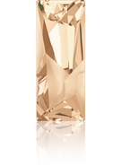 Swarovski Fancy Stone 4925 MM 29,0X 11,5 CRYSTAL GOL.SHADOW F(12pcs)
