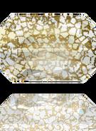 Swarovski 5515 MM 14,0X 9,5 CRYSTAL GOLD-PAT(36pcs)