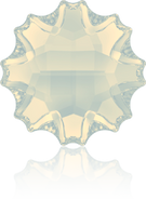 Swarovski Flat Back 2612 MM 10,0 WHITE OPAL M HF(48pcs)