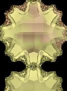 Swarovski Flat Back 2612 MM 14,0 CRYSTAL LUMINGREEN M HF(36pcs)