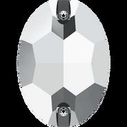 Swarovski 3210 MM 10,0X 7,0 CRYSTAL LTCHROME F(72pcs)