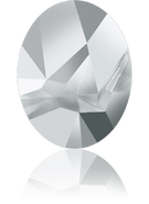 Swarovski Fancy Stone 4921 MM 23,0X 18,0 CRYSTAL LTCHROME F(15pcs)