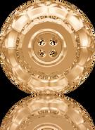 Swarovski Button 3008 MM 14,0 CRYSTAL GOL.SHADOW F(36pcs)