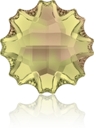 Swarovski Flat Back 2612 MM 10,0 CRYSTAL LUMINGREEN M HF(48pcs)