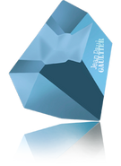 Swarovski Fancy Stone 4922 MM 28,0X 24,0 CRYSTAL MET.BLUE F T1158(8pcs)