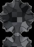 Swarovski Flat Back 2612 MM 10,0 JET M HF(48pcs)
