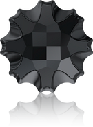 Swarovski Flat Back 2612 MM 14,0 JET M HF(36pcs)