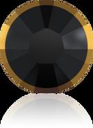 Swarovski 2038/I SS 10 JET DORADOZ A HF(1440pcs)