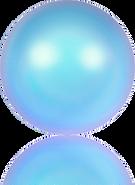 Swar Pearl/5818# 8m Iri Lt Blue (6pcs)