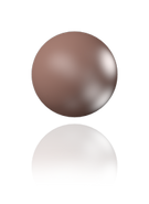 SWAROVSKI 5810 MM 6,0 VELVET BROWN PEARL (500pcs)