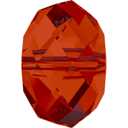 Swarovski Bead 5040 - 8mm, Crystal Red Magma (001 REDM), 288pcs
