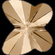 Swarovski Bead 5754 - 10mm, Crystal Golden Shadow (001 GSHA), 288pcs