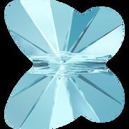 Swarovski Bead 5754 - 10mm, Aquamarine (202), 288pcs
