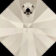 Swarovski Pendant 6401 - 8mm, Crystal Silver Shade (001 SSHA), 288pcs