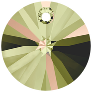 Swarovski Pendant 6428 - 12mm, Crystal Luminous Green (001 LUMG), 144pcs