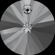 Swarovski Pendant 6428 - 8mm, Crystal Silver Night (001 SINI), 144pcs