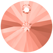 Swarovski Pendant 6428 - 8mm, Rose Peach (262), 144pcs