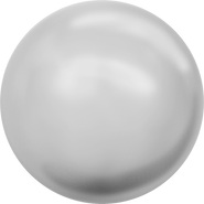 Swarovski Crystal Pearl 5810 - 10mm, Crystal Light Grey Pearl (001 616), 100pcs