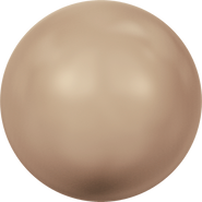 Swarovski Crystal Pearl 5810 - 12mm, Crystal Bronze Pearl (001 295), 100pcs