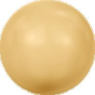Swarovski Crystal Pearl 5810 - 6mm, Crystal Gold Pearl (001 296), 500pcs
