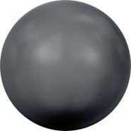 Swarovski Crystal Pearl 5810 - 5mm, Crystal Black Pearl (001 298), 500pcs