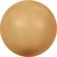 Swarovski Crystal Pearl 5810 - 4mm, Crystal Bright Gold Pearl (001 306), 500pcs