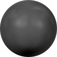 Swarovski Crystal Pearl 5810 - 12mm, Crystal Mystic Black Pearl (001 335), 100pcs