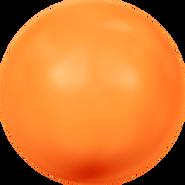 Swarovski Crystal Pearl 5810 - 6mm, Crystal Neon Orange Pearl (001 733), 500pcs