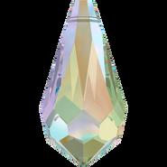 Swarovski Pendant 6000 - 15x7.5mm, Crystal Paradise Shine (001 PARSH), 144pcs