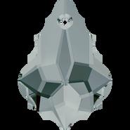Swarovski Pendant 6090 - 16x11mm, Black Diamond (215), 72pcs