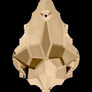 Swarovski Pendant 6090 - 22x15mm, Crystal Golden Shadow (001 GSHA), 48pcs
