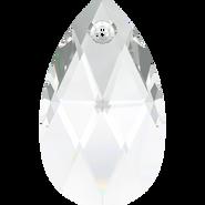 Swarovski Pendant 6106 - 28mm, Crystal (001), 36pcs