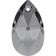Swarovski Pendant 6106 - 28mm, Crystal Silver Night (001 SINI), 36pcs