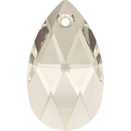 Swarovski Pendant 6106 - 28mm, Crystal Silver Shade (001 SSHA), 36pcs