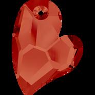 Swarovski Pendant 6261 - 27mm, Crystal Red Magma (001 REDM), 20pcs
