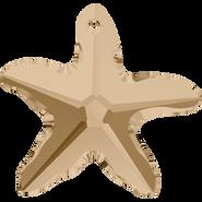 Swarovski Pendant 6721 - 28mm, Crystal Golden Shadow (001 GSHA), 12pcs