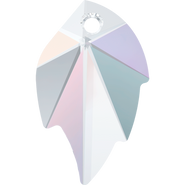 Swarovski Pendant 6735 - 26x16mm, Crystal Aurore Boreale (001 AB), 30pcs