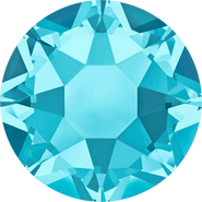Swarovski Hotfix 2078 - ss16, Aquamarine (202 Advanced), Hotfix, 1440pcs