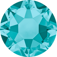 Swarovski Hotfix 2078 - ss16, Blue Zircon (229 Advanced), Hotfix, 1440pcs