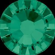 Swarovski Flatback 2058 - ss10, Emerald (205) Foiled, No Hotfix, 1440pcs