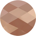 Swarovski Bead 5052 - 8mm, Crystal Rose Gold 2x (001 ROGL2), 144pcs