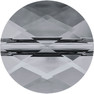 Swarovski Bead 5052 - 8mm, Crystal Silver Night (001 SINI), 144pcs