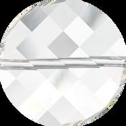 Swarovski Bead 5621 - 18mm, Crystal (001), 72pcs