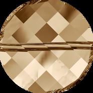 Swarovski Bead 5621 - 18mm, Crystal Golden Shadow (001 GSHA), 72pcs